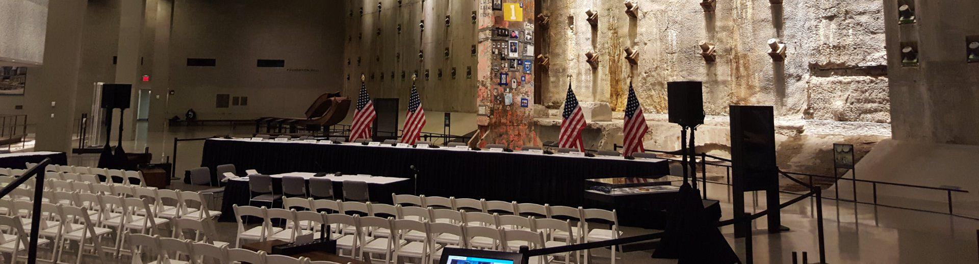 9-11 memorial audio